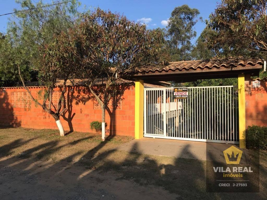 Chácara com 4 dormitórios à venda, 1600 m² por R$ 750.000 - Artur Nogueira/SP