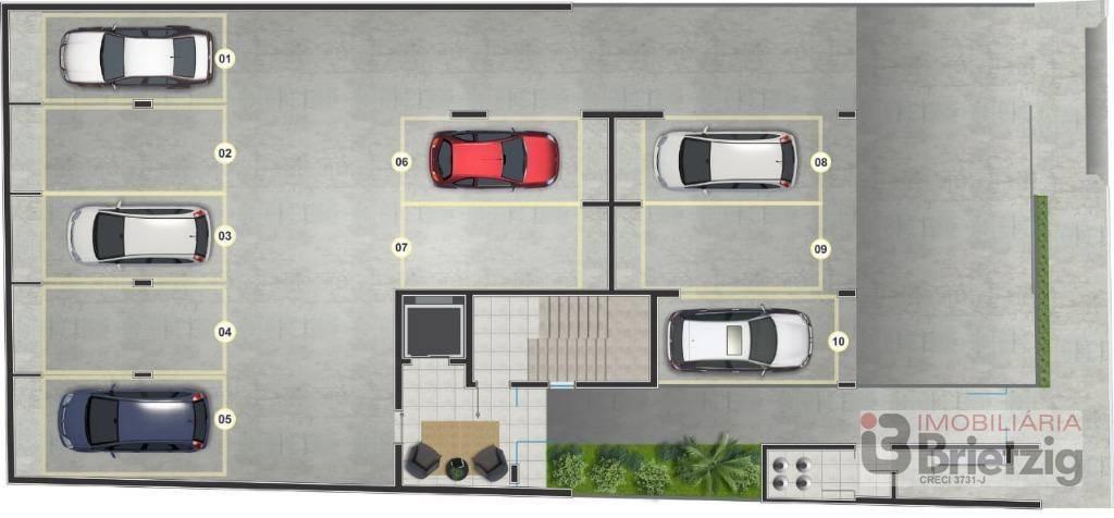 Apartamento com 3 Dormitórios à venda, 67 m² por R$ 293.196,02