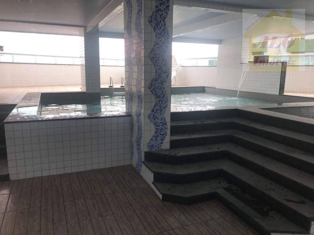 Apartamento à venda, 88 m² por R$ 400.000,00 - Vila Caiçara - Praia Grande/SP