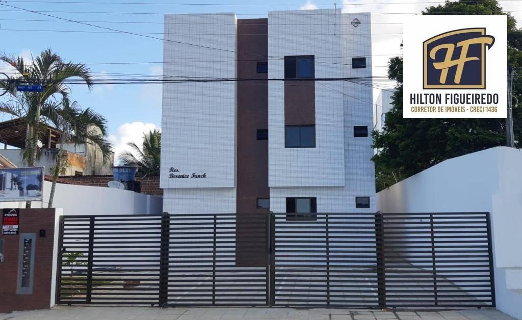 Apartamento com 2 dormitórios à venda, 53 m² por R$ 188.000,00 - Altiplano Cabo Branco - João Pessoa/PB