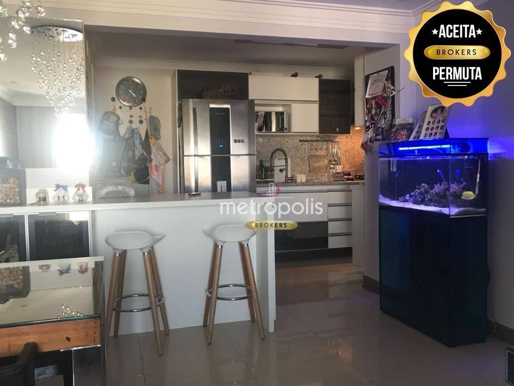 Apartamento à venda, 98 m² por R$ 636.000,00 - Santa Paula - São Caetano do Sul/SP