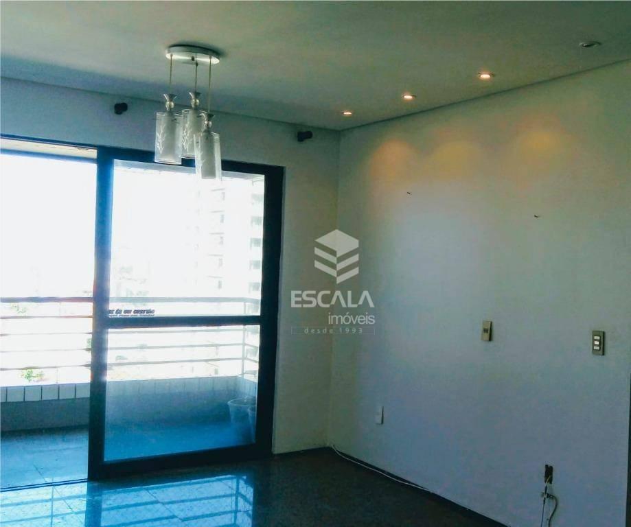 Apartamento com 3 quartos à venda, 134 m², andar alto, nascente, financia - Varjota - Fortaleza/CE