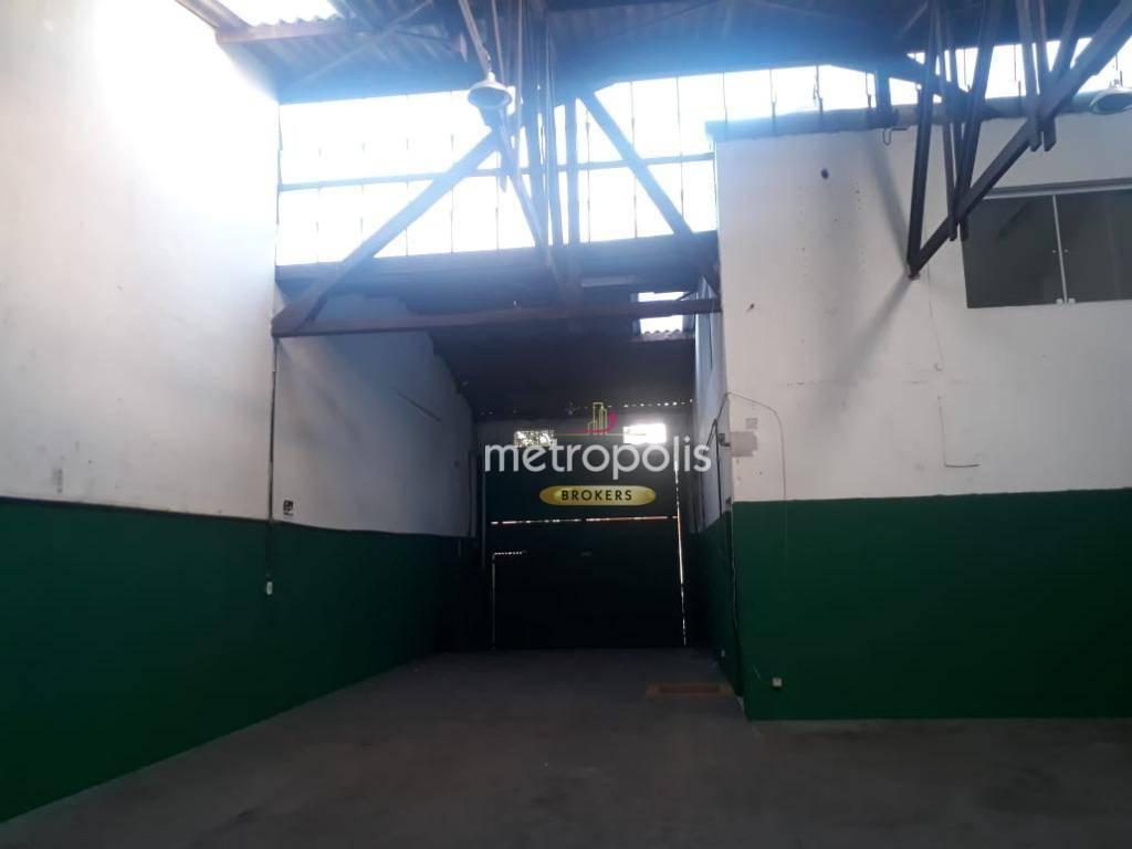 Galpão para alugar, 230 m² por R$ 4.500,00/mês - Cerâmica - São Caetano do Sul/SP