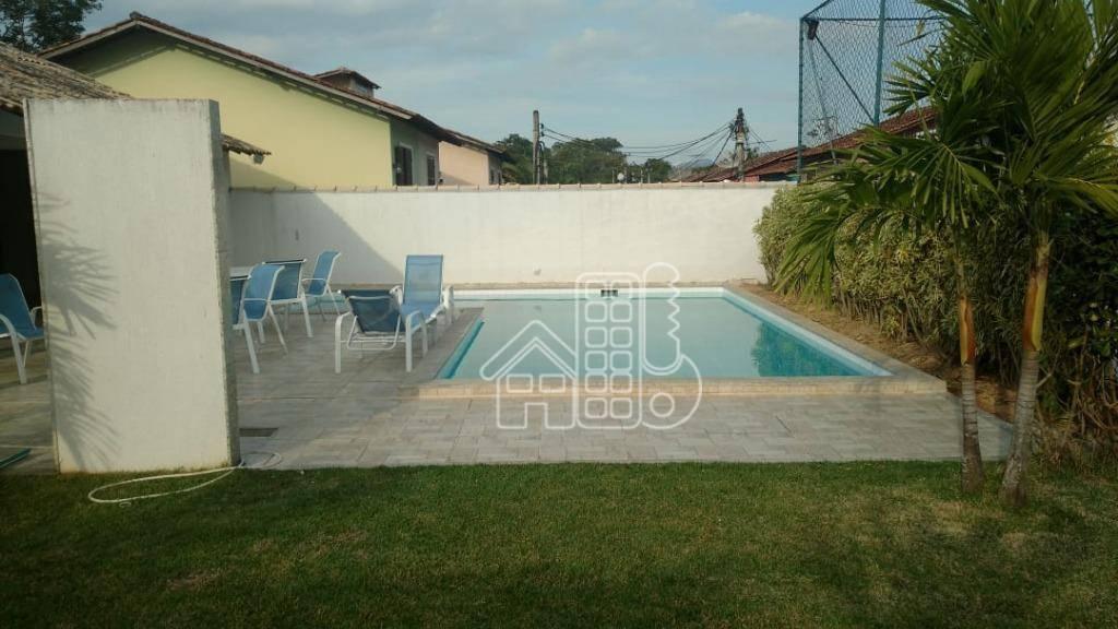 Casa com 3 dormitórios à venda, 101 m² por R$ 285.000,00 - Maria Paula - São Gonçalo/RJ