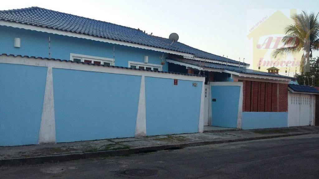 Casa com 4 dormitórios à venda, 144 m² por R$ 450.000 - Estância Balneária Belmira Novaes - Peruíbe/SP