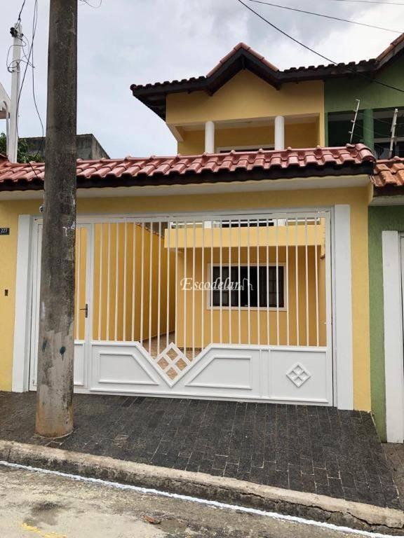 Sobrado com 3 dormitórios à venda, 134 m² por R$ 520.000 - Torres Tibagy - Guarulhos/SP