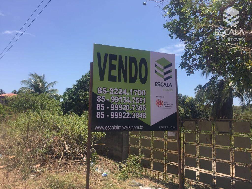 Terreno à venda, 2520 m² por R$ 100.000,00 - Icaraí - Caucaia/CE