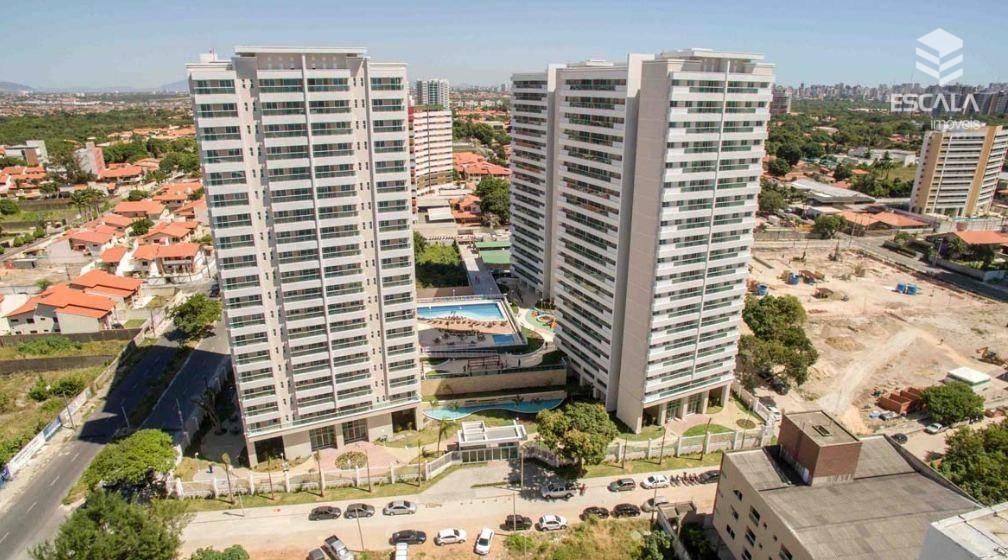 Apartamento com 3 quartos à venda, 70 m², área de lazer, 2 vagas, financia - Luciano Cavalcante - Fortaleza/CE