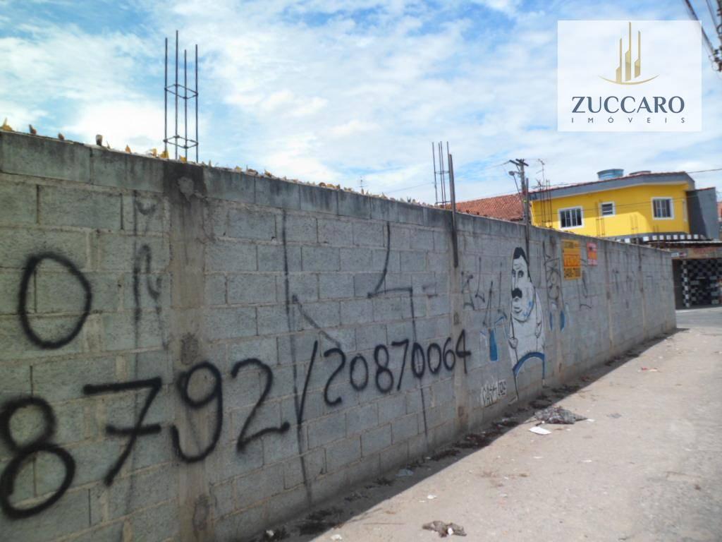 Terreno à venda em Jardim Presidente Dutra, Guarulhos - SP