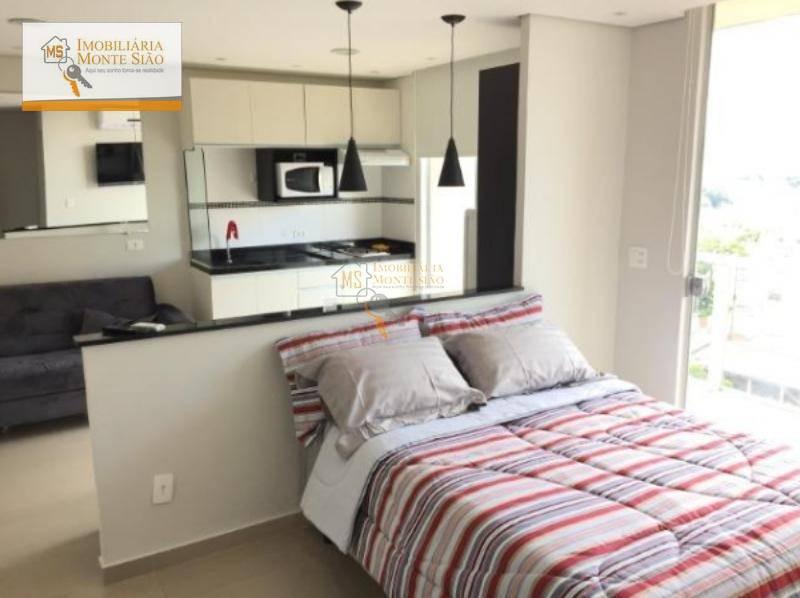 Studio Residencial para locação, Vila Augusta, Guarulhos - .
