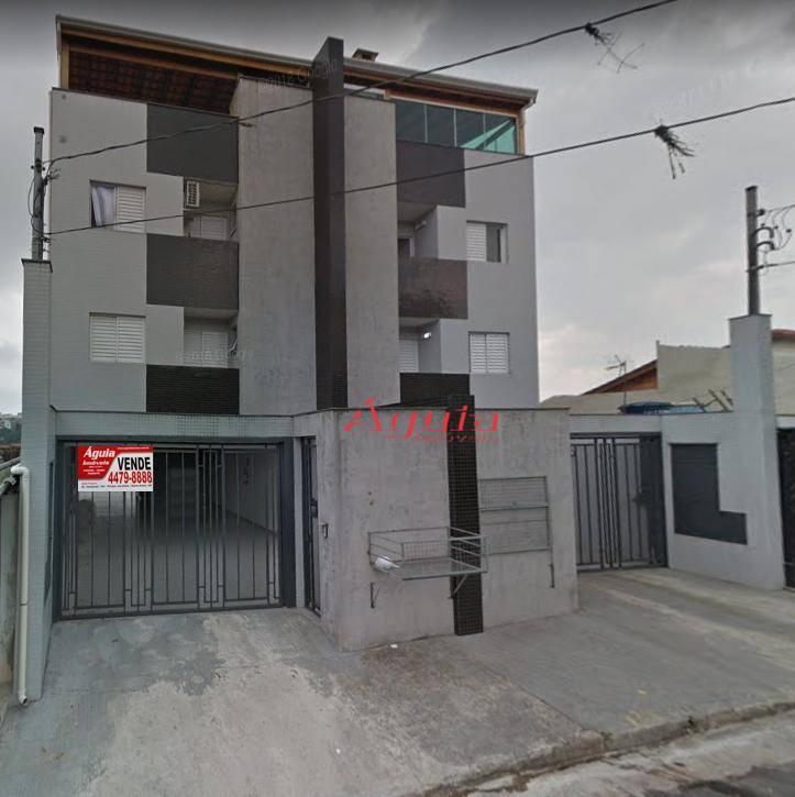 Cobertura com 2 dormitórios à venda, 64 m² por R$ 400.000 - Parque Capuava - Santo André/SP