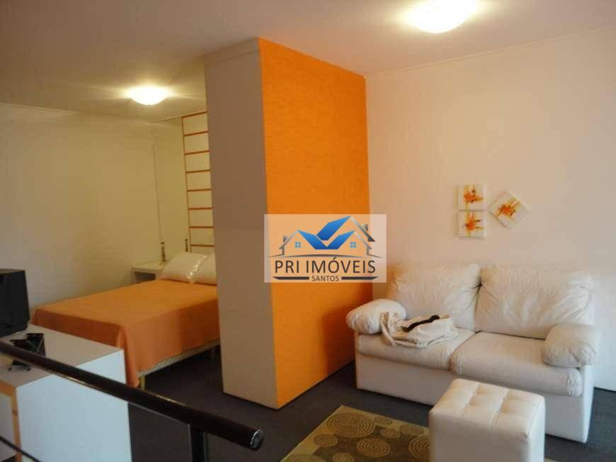 Loft à venda, 110 m² por R$ 568.000,00 - Gonzaga - Santos/SP