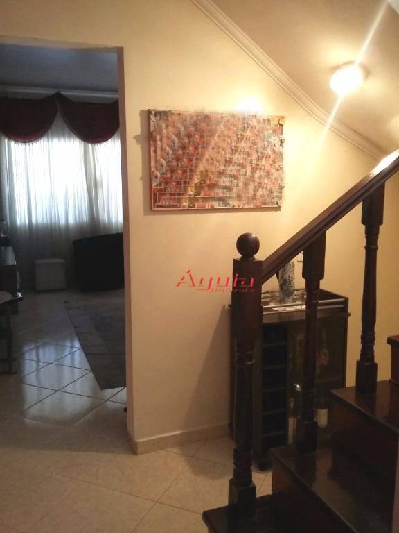 Sobrado residencial à venda, Parque Novo Oratório, Santo André - SO0726.