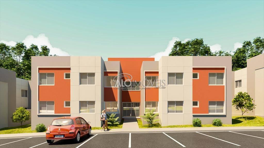 Residencial América 2 - Apartamentos com 2 quartos em Fazenda Rio Grande