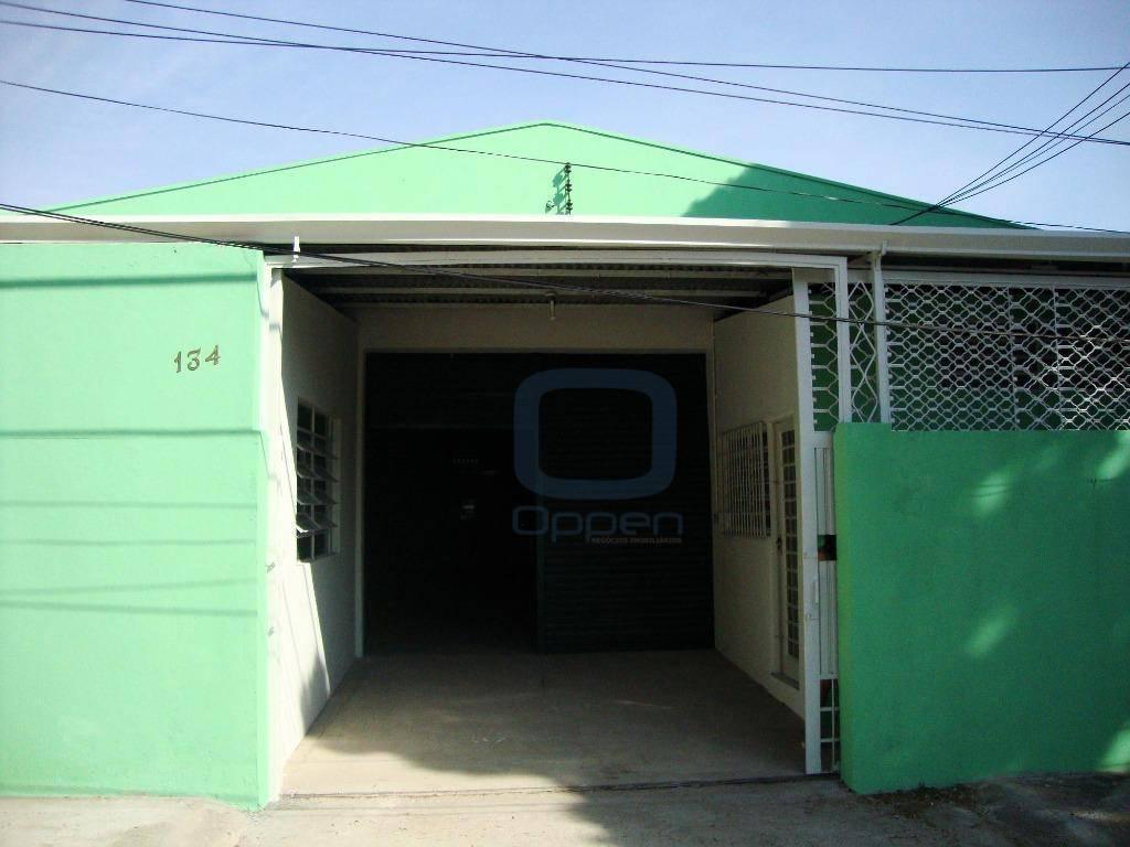Barracão comercial para locação, Jardim Eulina, Campinas.