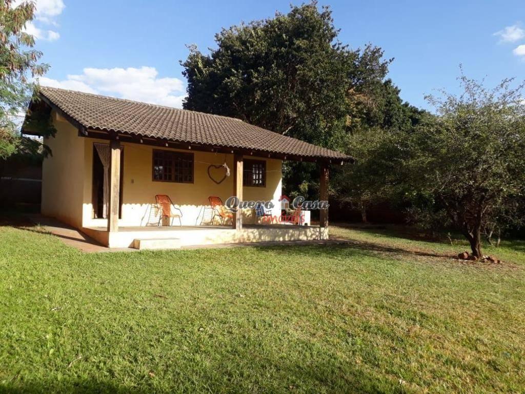 Chácara com 2 dormitórios à venda, 1075 m² por R$ 350.000 -