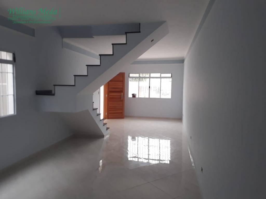 Sobrado com 3 dormitórios à venda, 110 m² por R$ 550.000 - Jardim Paraventi - Guarulhos/SP