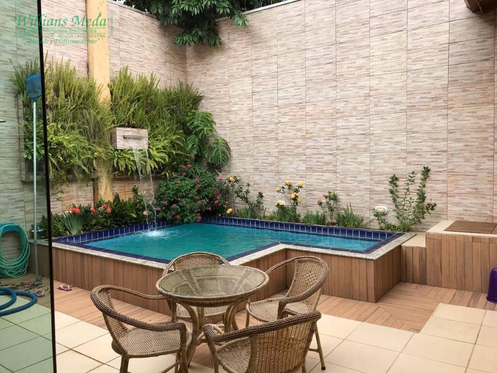 Sobrado com 4 dormitórios à venda, 290 m² por R$ 1.300.000 - Parque Renato Maia - Guarulhos/SP