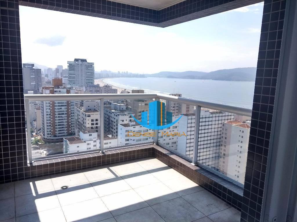 Apartamento em Santos 3 Suítes - A melhor Vista da Cidade -
