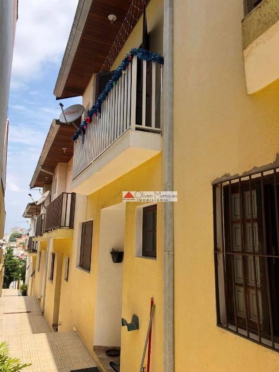 Sobrado à venda, 73 m² por R$ 300.000,00 - Pestana - Osasco/SP