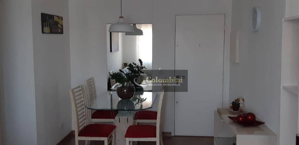Apartamento com 2 dormitórios à venda, 67 m² por R$ 370.000 - Nova Gerty - São Caetano do Sul/SP