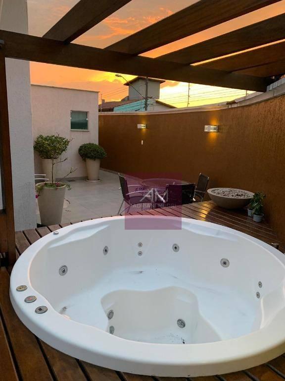 Casa Térrea à venda, 306 m² com 03 suítes. Totalmente decorada e mobiliada. por R$ 1.750.000 - Parque dos Pássaros - São Bernardo do Campo/SP