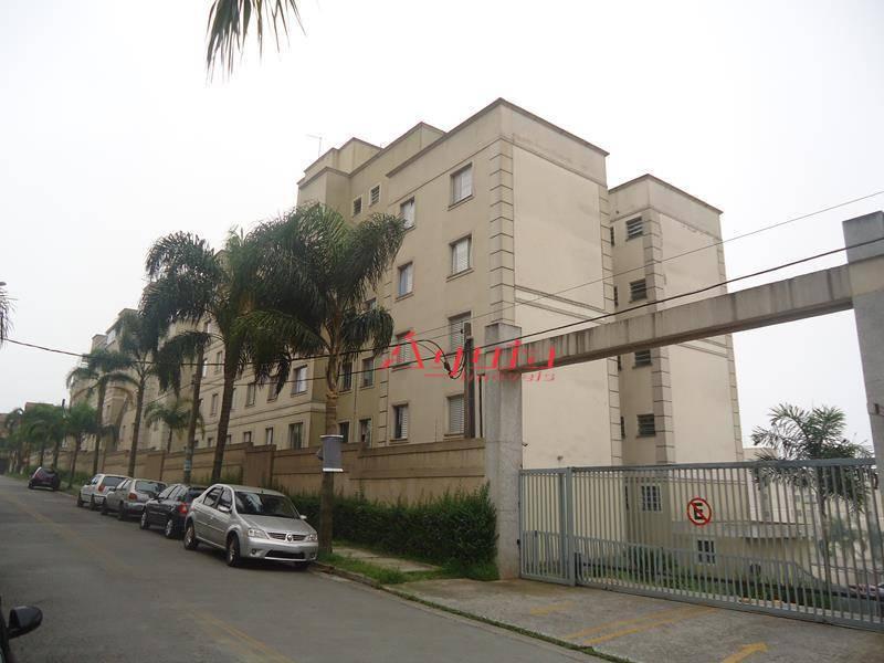 Apartamento  residencial à venda, Parque São Vicente, Mauá.