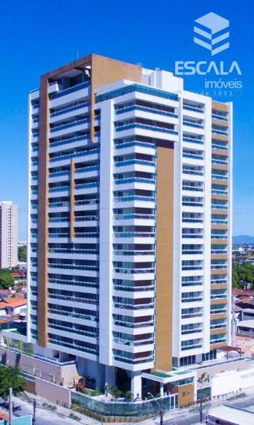 Apartamento com 3 quartos à venda, 164 m² , novo, área de lazer, 3 vagas - Fátima - Fortaleza/CE