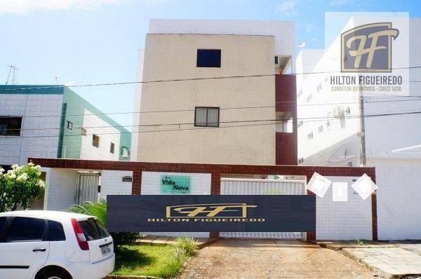 Apartamento com 3 dormitórios à venda, 90 m² por R$ 189.900 - Bessa - João Pessoa/PB