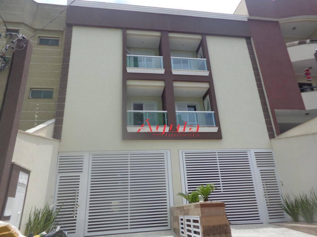 Apartamento com 3 dormitórios à venda, 90 m² por R$ 450.000 - Parque das Nações - Santo André/SP
