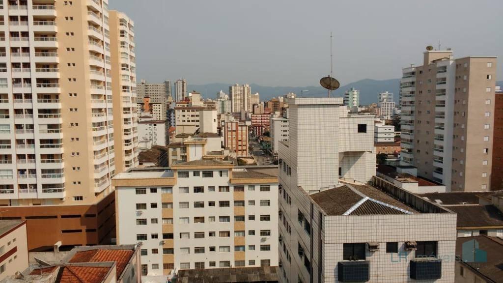 Apartamento à venda, 94 m² por R$ 500.000,00 - Canto do Forte - Praia Grande/SP