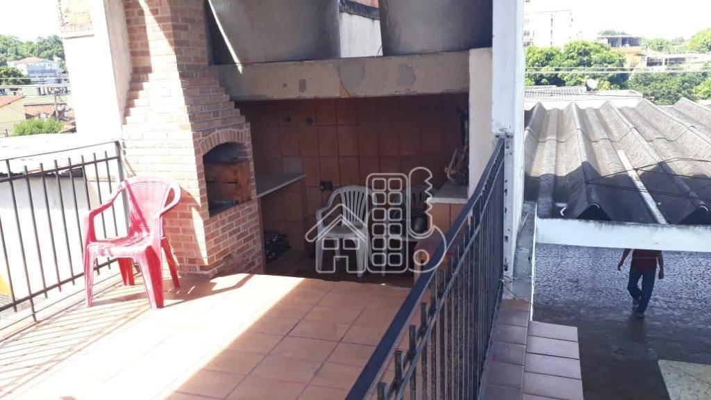 Casa com 4 dormitórios à venda, 400 m² por R$ 345.000,00 - Brasilândia - São Gonçalo/RJ
