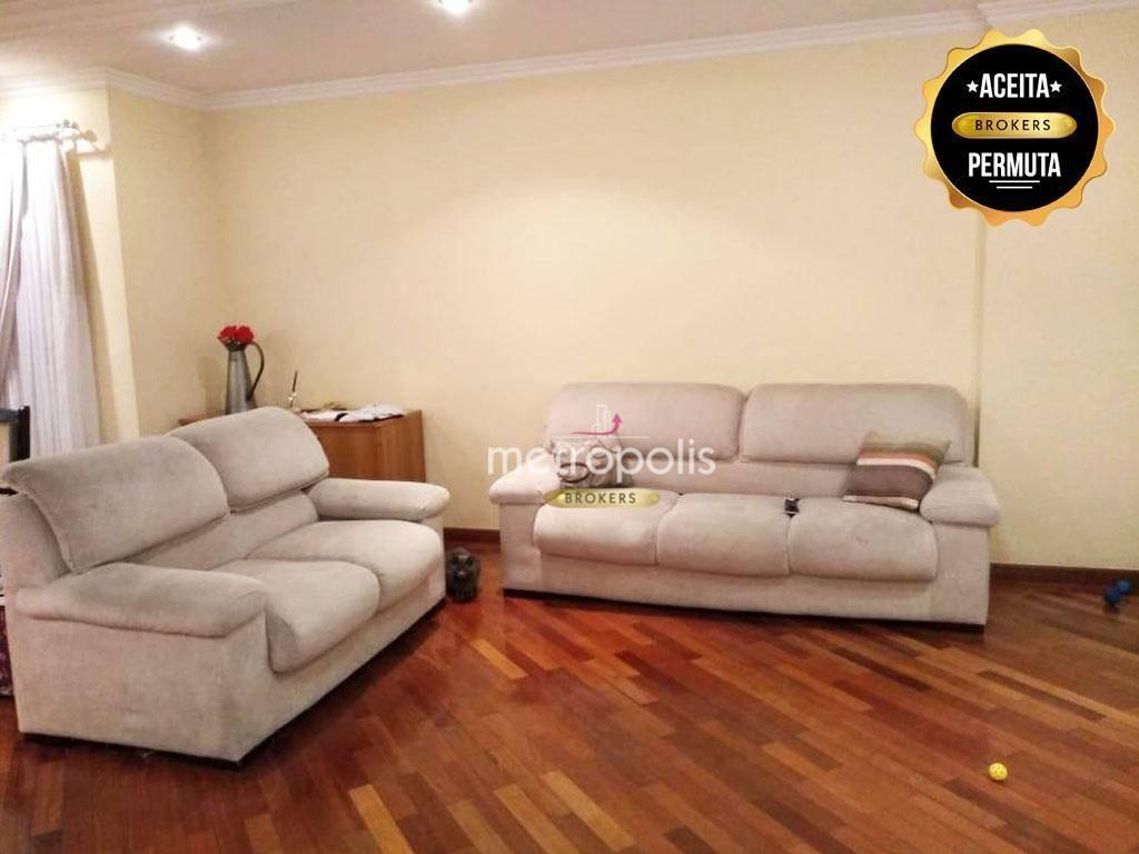 Apartamento à venda, 168 m² por R$ 830.000,00 - Barcelona - São Caetano do Sul/SP