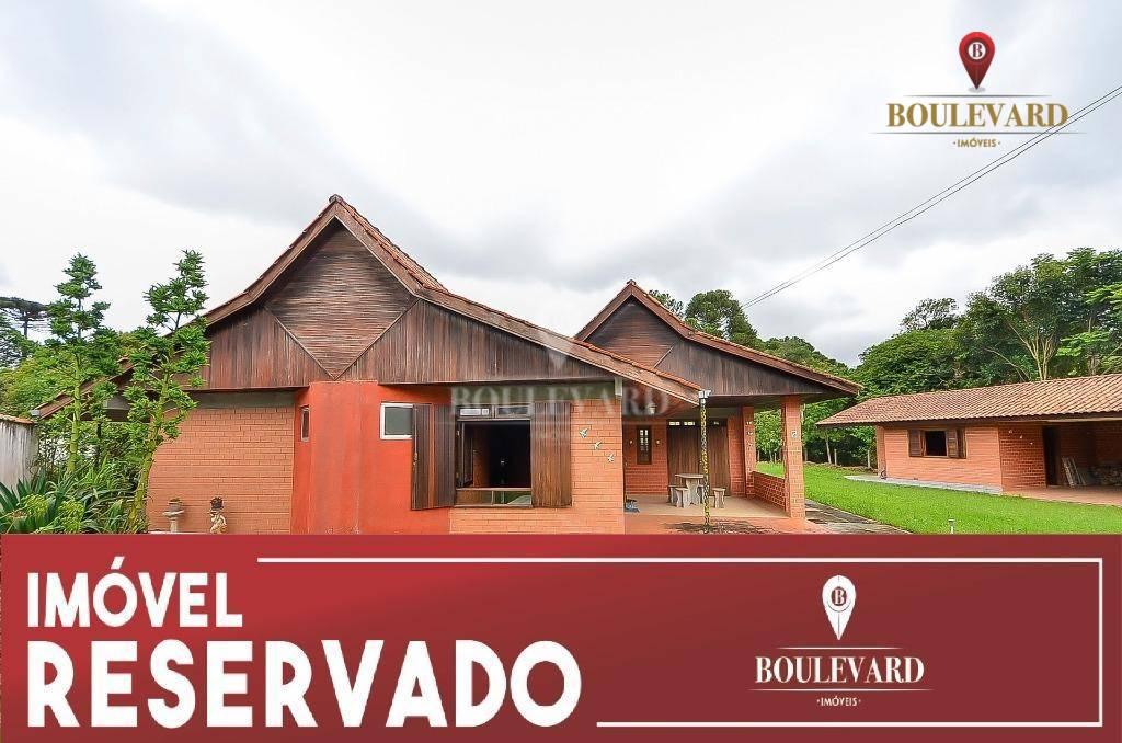 Chácara no condomínio Morada do Sol, com 3 dormitórios à venda, 2094 m² por R$ 620.000 - Borda Do Campo - São José dos Pinhais/PR