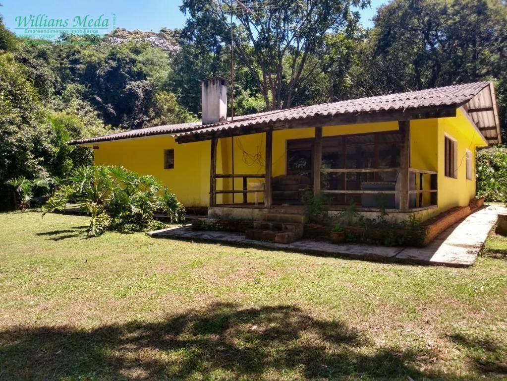 Sítio com 3 dormitórios à venda, 128000 m² por R$ 1.000.000,00 - Jardim Augusto Coimbra - Mairiporã/SP