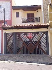 Sobrado residencial à venda, Vila Camilópolis, Santo André - SO0240.
