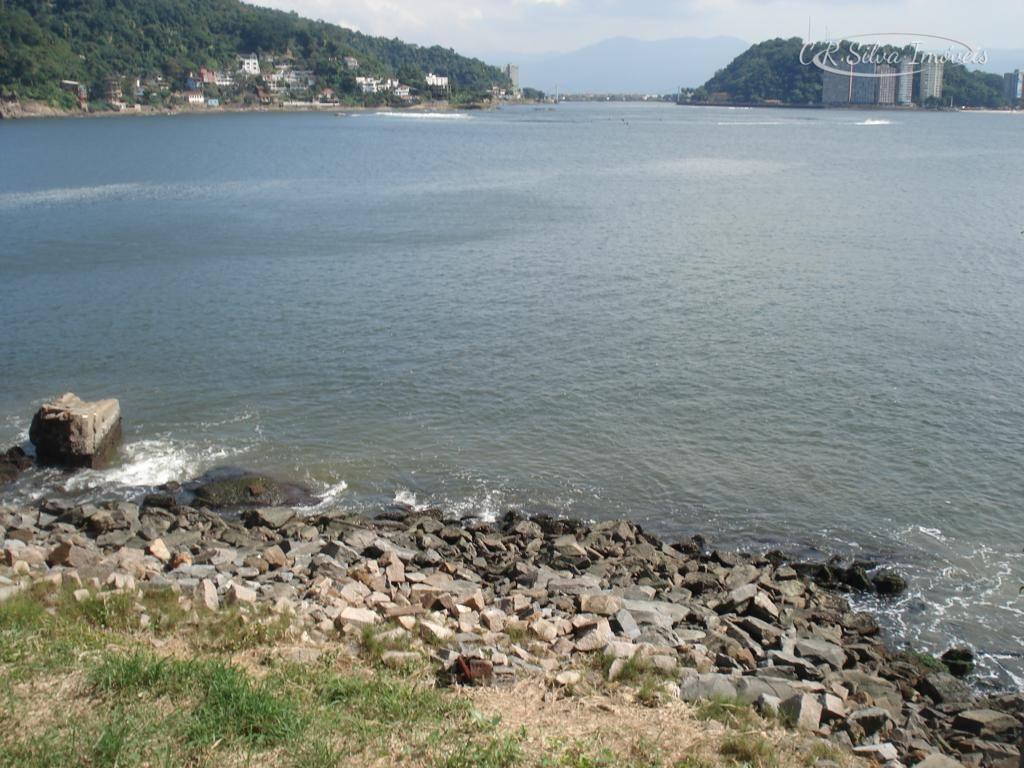Terreno à venda, 695 m² por R$ 540.000 - Ilha Porchat - São Vicente/SP