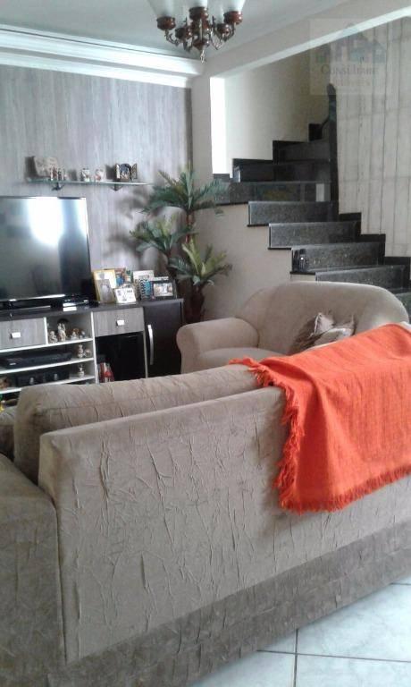 Casa com 3 dormitórios à venda, 125 m² por R$ 380.000 - Vila São Jorge - São Vicente/SP