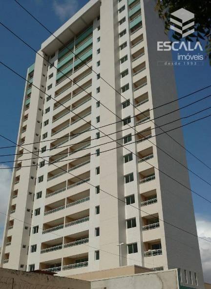 Apartamento com 3 quartos à venda, 117 m², 2 vagas, área de lazer, financia - Fátima - Fortaleza/CE