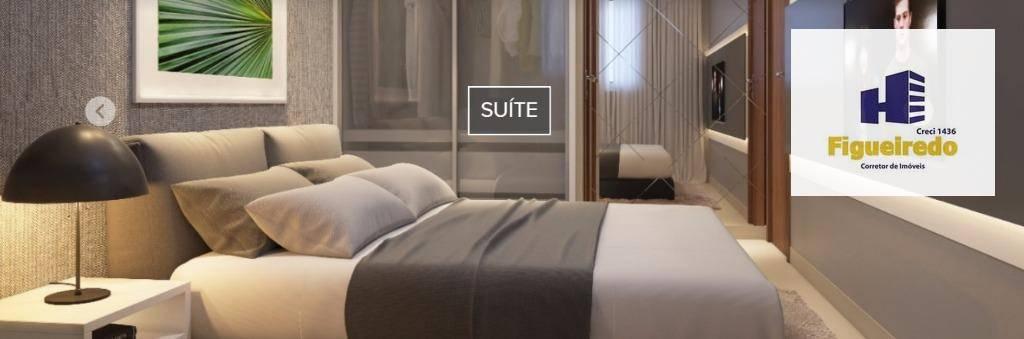 Apartamento com 2 dormitórios à venda, 52 m² por R$ 174.000 - Bancários - João Pessoa/PB