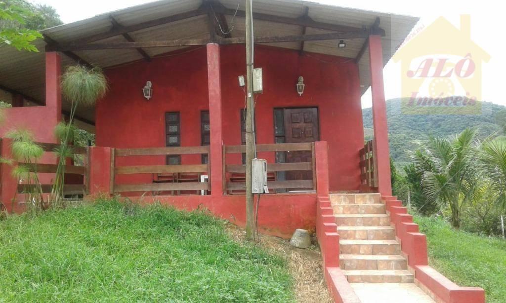 Sítio com 2 dormitórios à venda, 48400 m² por R$ 180.000