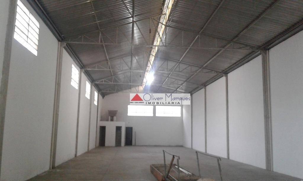 Galpão para alugar, 421 m² por R$ 8.500,00/mês - Presidente Altino - Osasco/SP