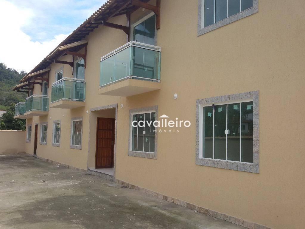 Apartamento de 3 dormitórios em São José Do Imbassaí, Maricá - RJ