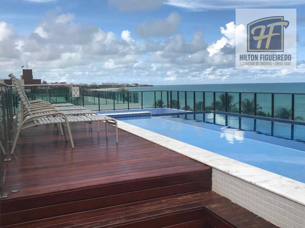 Apartamento BEIRA MAR com 2 dormitórios à venda, 78 m² por R$ 529.000 - Intermares - Cabedelo/PB