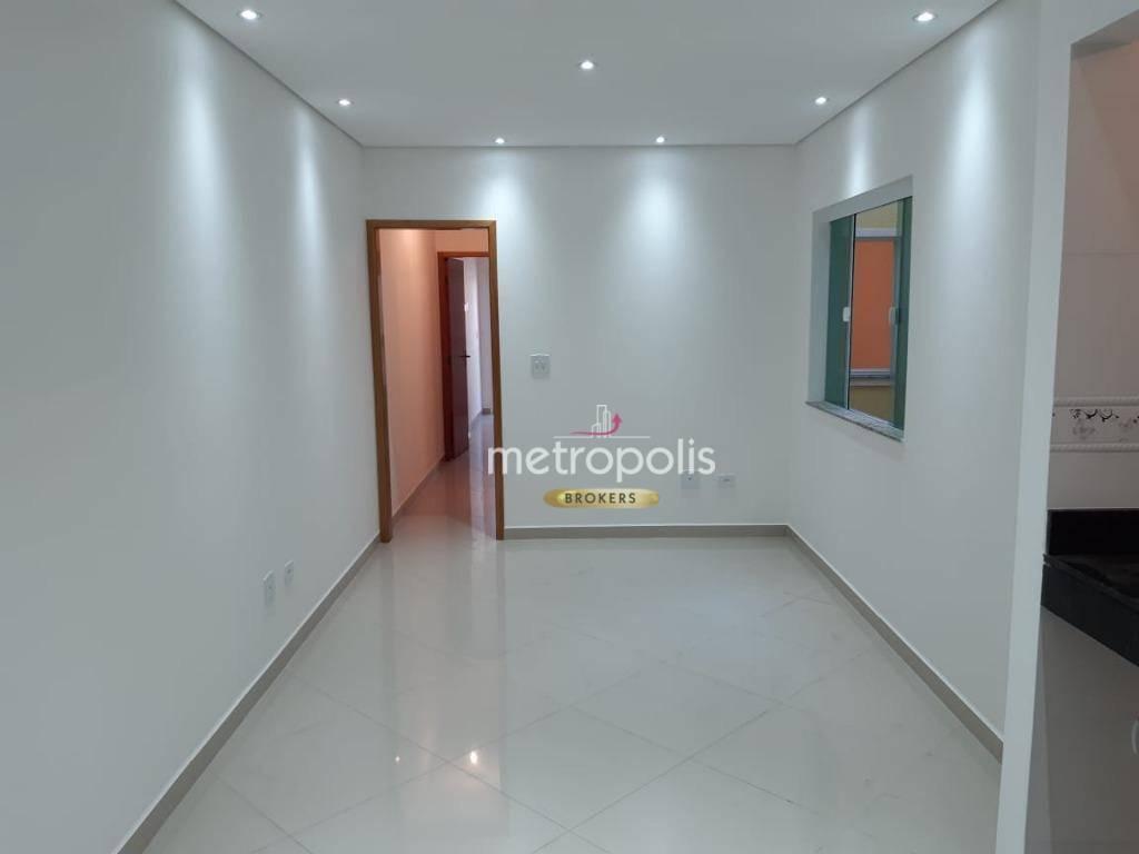 Apartamento com 2 dormitórios à venda, 64 m² por R$ 295.000 - Parque das Nações - Santo André/SP