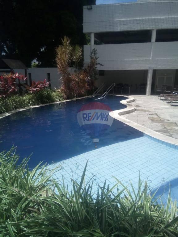 Apartamento com 3 dormitórios à venda, 72 m² por R$ 410.000 - Casa Amarela - Recife/PE