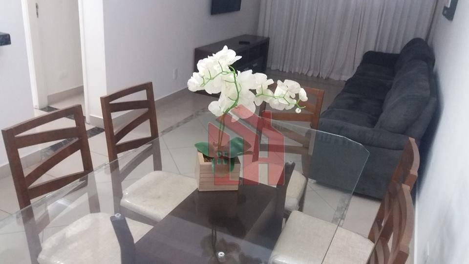 Apartamento no Itararé de frente pro mar  decorado pronto para morar