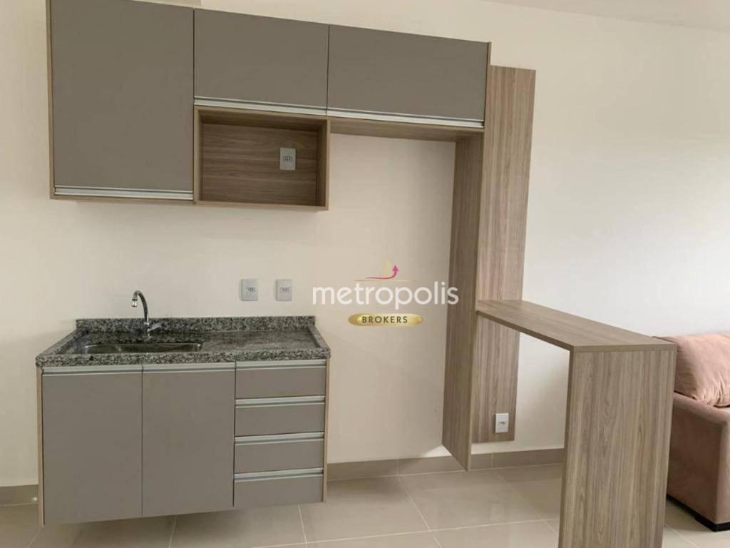 Studio com 1 dormitório para alugar, 37 m² por R$ 1.690,00/mês - Rudge Ramos - São Bernardo do Campo/SP