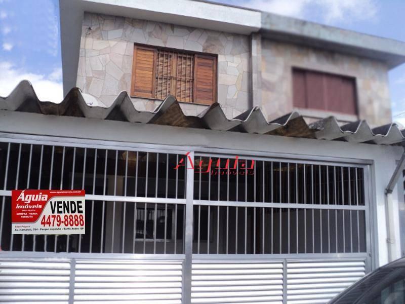 Sobrado residencial à venda, Jardim Irene, Santo André.