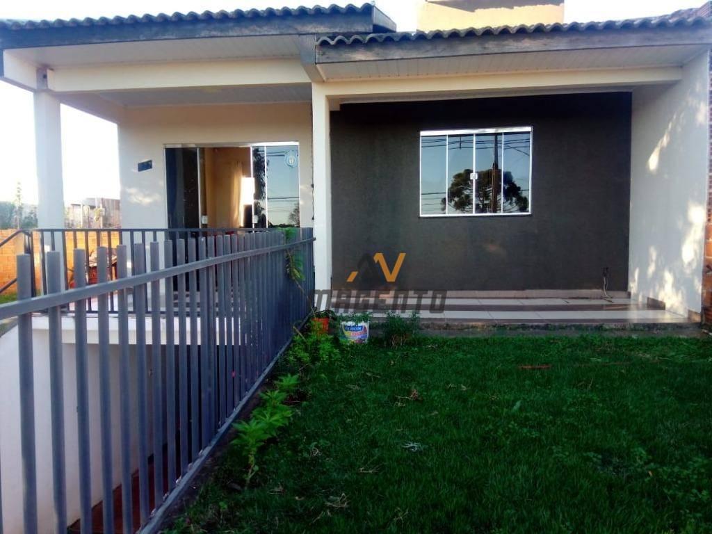 Casa à venda, 101 m² por R$ 250.000 - Centro - Santa Tereza do Oeste/PR